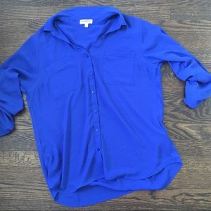 Lot of 2 Express Portofino Shirts